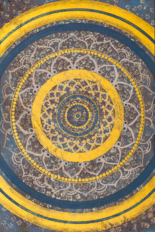 "Originalgemälde ""Mandala Royal"" 80 x 120cm"