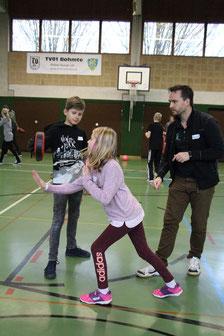 """Präventionswochenende """"Kinder stark machen"""" mit dem Coach Marzel Heitmeyer"""