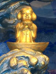 江戸総鎮守・神田神社の少彦名命さまのお像 商売繁昌、医薬健康、開運招福の神様です。