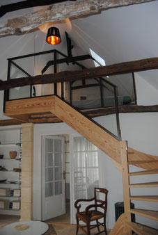 Towards the mezzanine