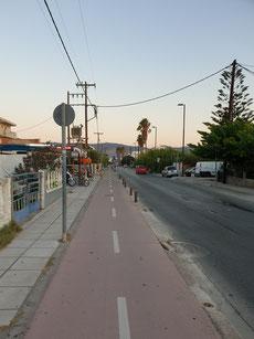 Fußweg / Radweg nach Kos Stadt