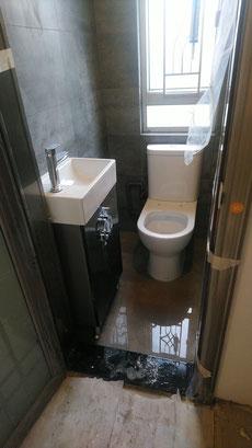 屯門裝修 - 安裝洗手盤櫃