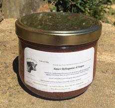 Sauce bolognaise d'Angus vendue en vente directe par la Ferme de Neuvy dans le Cher
