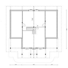 Obergeschoss mit Galerie  - Hausentwurf - Holzhausplanung - Gesundes ökologisches Bauen - Nachhaltiges Planen - Hausplanung - Hauskauf - Holzhausspezialist  - Holzhaus Architekt -  Blockhausprofi - Blockhausexperten - Hersteller