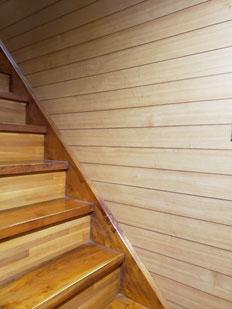 プチリフォーム 施工前 階段 手摺 バリアフリー