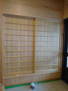 木製建具 板戸