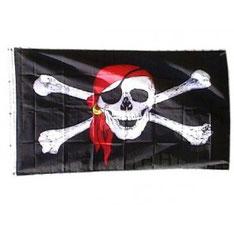 Piratenvlag 90x150cm € 5,99
