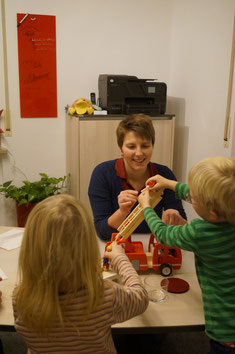 Spaß und Spiel sind das A und O in der logopädischen Behandlung von Kindern...