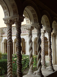 San Paolo, Kreuzgang des Benediktinerklosters