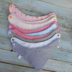 bavoir bandana artisanal pour bebe et enfant