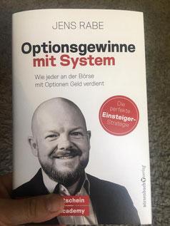 freaky finance, Jens Rabe, Buchcover Optionsgewinne mit System, Optionshandel, Dividendenstrategie, Buch