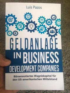 freaky finance, Luis Pazos, Buchcover Geldanlage in Business Development Companies, BDCs, Beteiligungsgesellschafften, investieren in US-Mittelstandsunternehmen