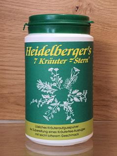 Heidelberger`s 7 Kräuterstern ist ein wahres Wunder an Heilkraft und Wirksamkeit.