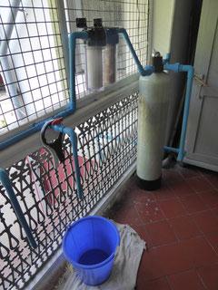 Système de traitement de l'eau fourni par PASDB.