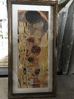 我が家にある「クリムト」の絵画