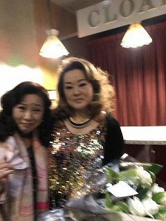 美沙さんとツーショット!!でも、ピンボケ・・・残念(#^^#)