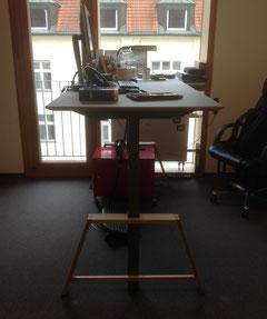 Höhenverstellbarer Tisch - ERGO - MOTU A Gestell