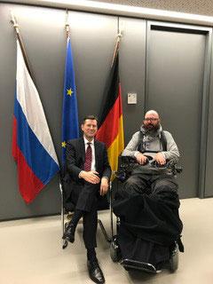 Besuch im deutschen Generalkonsulat mit Generalkonsul Mathias Kruse