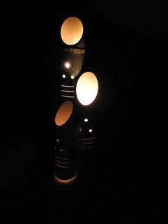 趣のある「竹宵」の門松です。