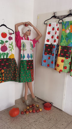 Patterns from the sixties, designed and made by Beate Gernhardt