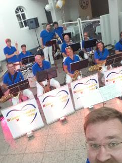 Bigband zur Abschlussfeier BBS im Atrium Bad Grund, 29.6.2019
