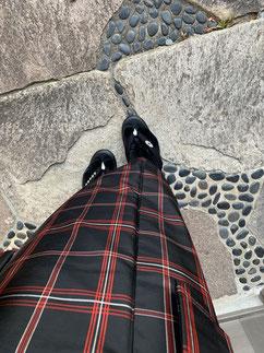 紬アンサンブル カジュアル着物 別珍足袋 きものレッスンさくらさくら kimono