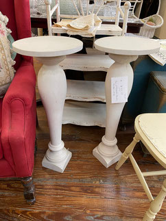 Pedestals Pair $55.00 SOLD