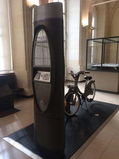 Velib vélo libre service paris