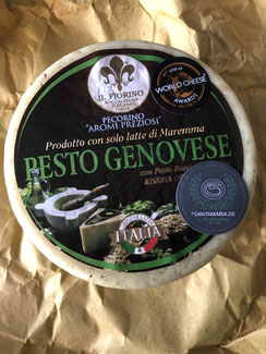 Pesto Genovese - Pecorino mit Pesto Genovese -  Basilikum Pesto kaufen in Trebur - Frisches Pesto - Pesto abholen in Trebur - Käse kaufen in Trebur - Käse aus Piemont in Trebur Kaufen - käse online kaufen - guter käse - Geschenkideen - hochwertiger käse -
