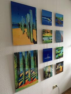Fotokunst Gemälde, Carolin von Wolmar, limitierte Fotokunst kaufen, Atelier Wiesbaden