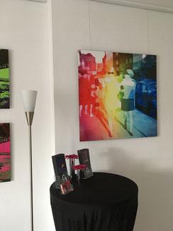 """""""Der Mini"""" 80x80 cm, limitierte Fotokunst, 10 Expl."""