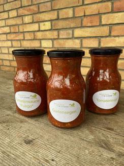 Tomatensugo vom Belpberg erhältlich bei petershof bei Thun