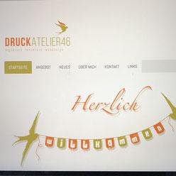 Druckatelier46 Mülchi - Linkfoto Webdesign