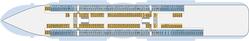 AIDAnova Deck 4 | © AIDA Cruises