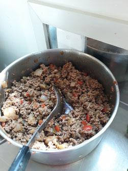-Préparation pour les empanadas argentins à la viande - petitedecouverte.fr