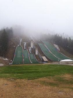 Skisprungschanzen für Groß und Klein :)