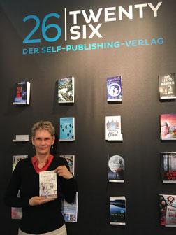 Delmenhorster Schriftstellerin Katy Buchholz auf der Frankfurter Buchmesse
