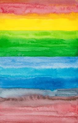 2013年作品「Rainbow」