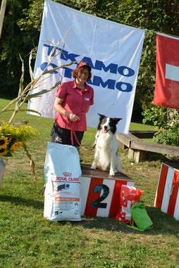 Trix Schneider mit Peak Vizemeisterin