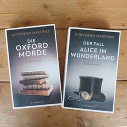 Das war unser Bookblinddate #7 + #8 - Die Oxford Morde und Der Fall Alice im Wunderland