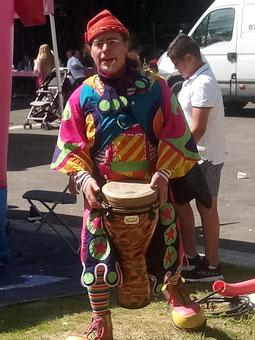 spectacle clown anniversaire enfant
