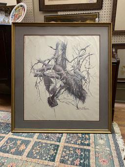 Gilbert Duran Print Framed $49.00