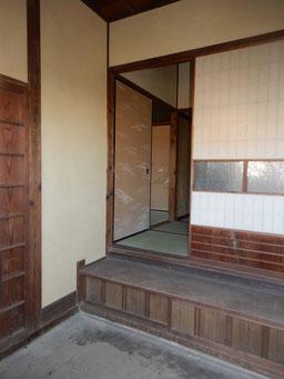 築90余年 古民家再生 玄関