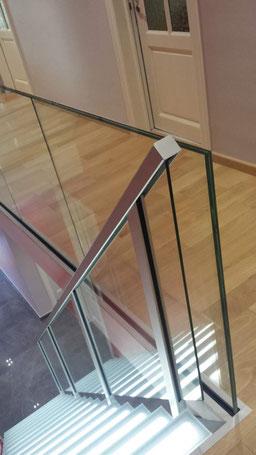 verlichte trap van Graah