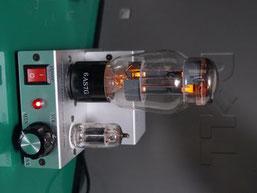 6AS7G低電圧24V真空管アンプ