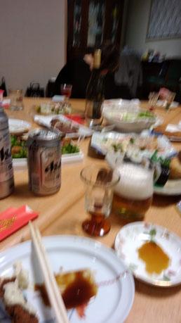 食事の手振れ写真