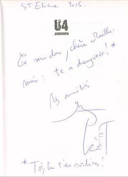 Dedicace Yves Grevet Koridwen Maëlle's Books