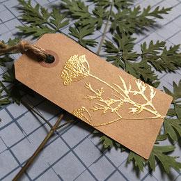 Poudre à embosser dorée pour tampon Impression relief Le Héron Graveur