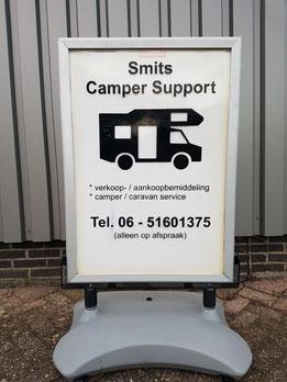 Bekijk de service van Smits Camper Support