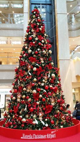 羽田空港はすでにクリスマスムード!!